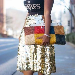 Dresses & Skirts - Gold Skirt